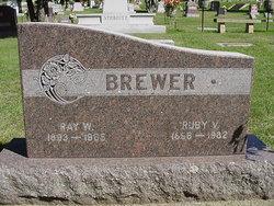 Ruby V. <i>Hendricks</i> Brewer