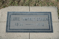 Fariebelle B Farie <i>Fawkner</i> Braden