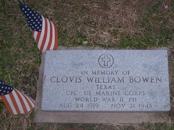 Corp Clovis William Bowen