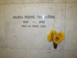 Maria Hoang <i>Thi</i> Huong