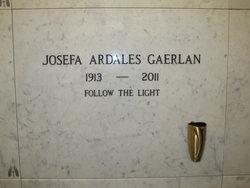 Josefa Ardales Gaerlan