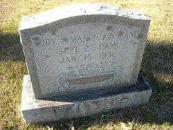 Ruby Lee <i>Mason</i> Kinsland