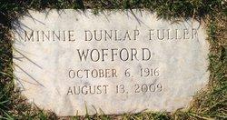 Minnie Dunlap <i>Fuller</i> Wofford