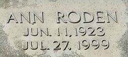 Ann <i>Roden</i> Deadrick