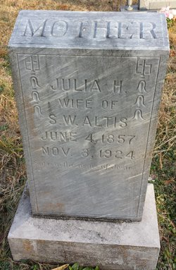 Julia Harriet <i>Brooks</i> Altis