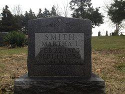 Martha I <i>Brown</i> Smith