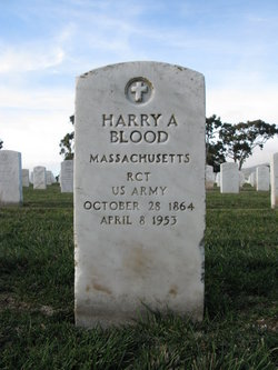 Harry A Blood
