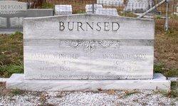 Annie A <i>Wilson</i> Burnsed