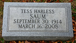 Katherine Olivia Tess <i>Harless</i> Saum