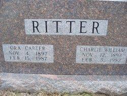 Ora Lee <i>Carter</i> Ritter