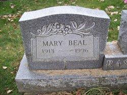 Mary <i>Beal</i> Basinger