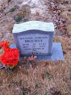 Maxine <i>Dawson</i> Brochue