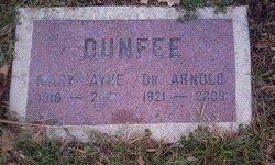 Mary Jayne <i>Ridenoure</i> Dunfee
