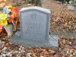 Frances Lucille <i>Cooper</i> Akins