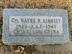 Corp Wayne N Alquist