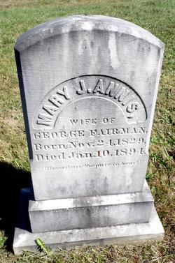 Mary Jane <i>Annis</i> Fairman