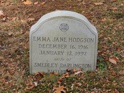 Emma Jane <i>Hodgson</i> Butler