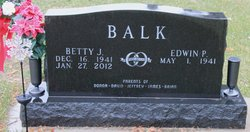 Betty J. <i>Feldt</i> Balk