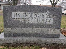 Donna E <i>Listenberger</i> Gollnow