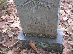 Annie Janie <i>Guyton</i> Bowen