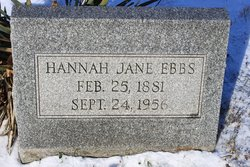 Hannah Jane <i>Kough</i> Ebbs