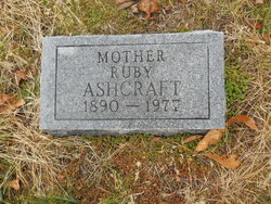 Ruby <i>Jarrett</i> Ashcraft