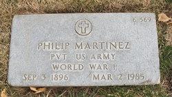 Pvt Philip Pi Martinez