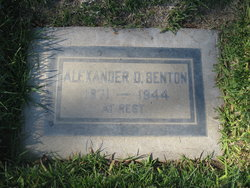 Alexander D. Benton