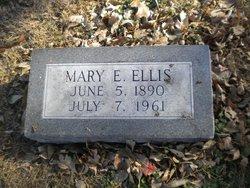 Mary E. <i>Hower</i> Ellis