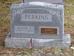 Alice Frances <i>Adair</i> Perkins -Wright