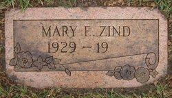 Mary E Zind