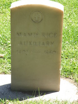 Mamie <i>Rice</i> Auxiliary