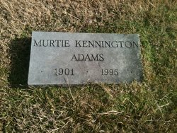 Murtie <i>Kennington</i> Adams