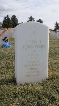 Knox T Johnston
