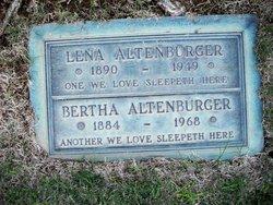 Bertha Altenburger