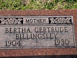 Bertha Gertrude Billingsley