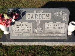 Gale N Carden