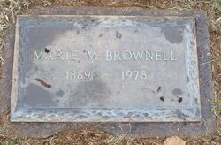 Anna Marie <i>Myers</i> Brownell