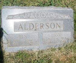 Pricie Elizabeth Lizzie <i>Shipman</i> Alderson