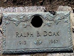 Ralph B Doak