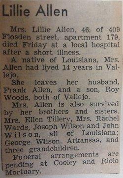 Lillie Allen