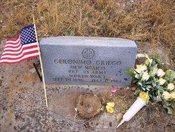 Pvt Geronimo Griego