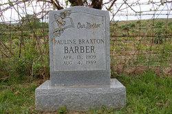 Pauline <i>Braxton</i> Barber