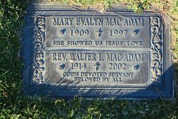 Mary Evalyn <i>Rambo</i> Macadam