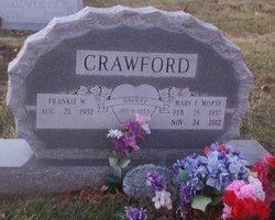 Mary Frances <i>Fizer</i> Crawford