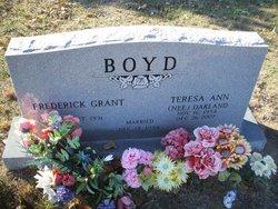 Teresa Ann <i>Oakland</i> Boyd