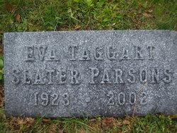Eva <i>Taggart</i> Slater Parsons