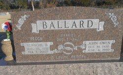 Blanche Bernice Peggy <i>Kettler</i> Ballard