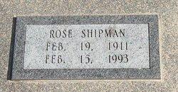 Rose Maxine <i>Bishop</i> Shipman