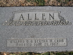 Bertha Miriam <i>Cram</i> Allen